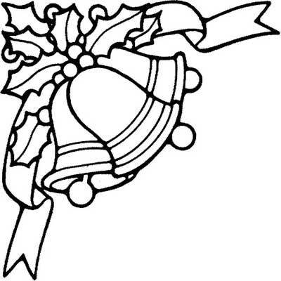 riscos e desenhos desenhos de sinos para o natal