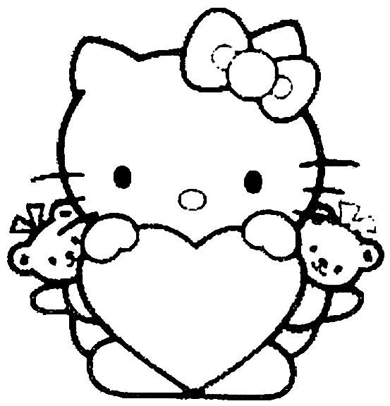 ... enfeites de mesa e lembrancinha de aniversário om o tema Hello Kitty