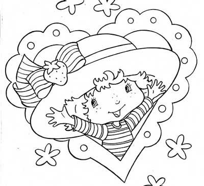 riscos e desenhos desenhos da moranguinho para colorir