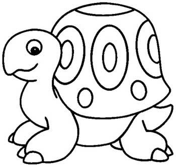 Desenhos Animais Tartaruga Colorir Atividades Escola  1
