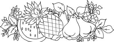 Pintura Pano De Prato Riscos De Flores Para Pintura Mais Desenhos De