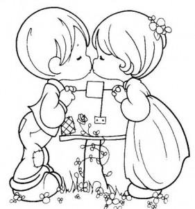 Mi amor coloring pages ~ Riscos e Desenhos   Desenhos com Motivos Românticos