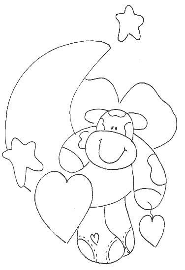 Riscos e Desenhos | Desenhos de Vaquinhas