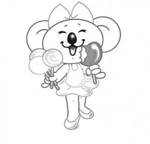 desenhos colorir lilica repilica  (3)