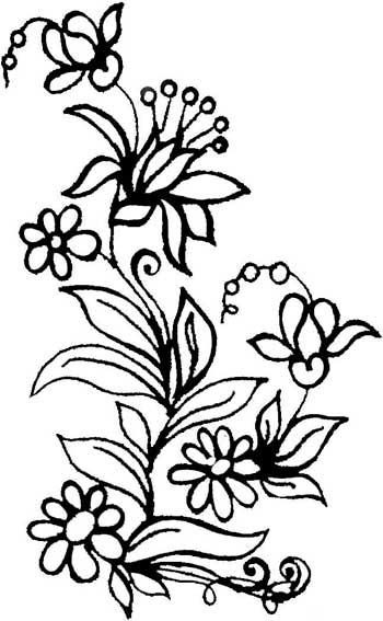 Desenhos De Flores Pintura Paninho Caixinha Quadrinhos  3