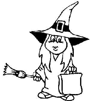 riscos e desenhos desenhos de bruxinhas