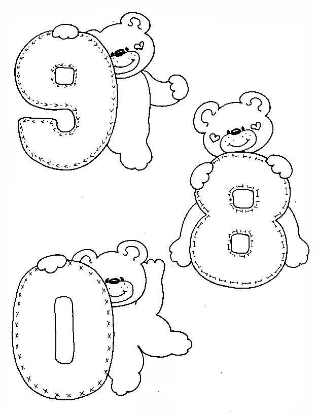 Ursinhos Para Pintura Em Fraldas Desenhos Ursinho Puf Baby Arte