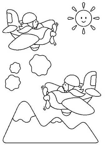 riscos e desenhos desenhos de avião