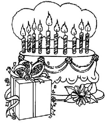 Riscos E Desenhos Desenhos Para Colorir Aniversário