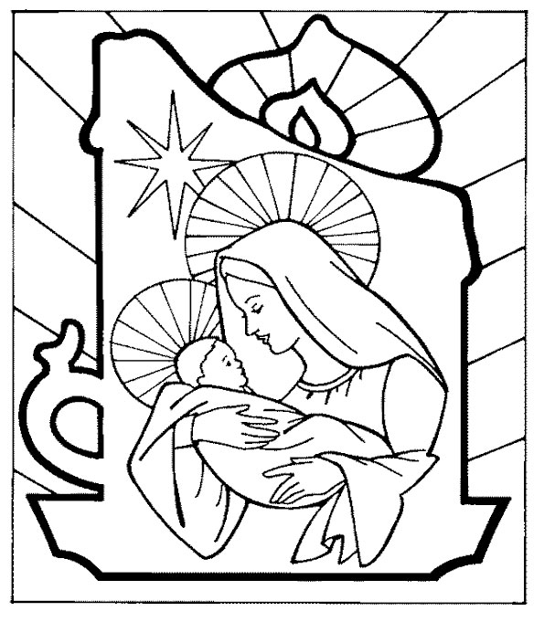 Free Printable Christmas Coloring Pages Adult