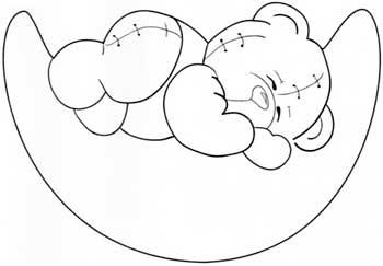 riscos e desenhos desenhos de ursinhos para pintura em fraldas