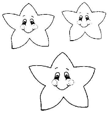 Molde Estrela Artesanato Eva Feltro  3