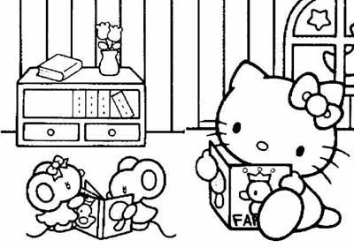 Riscos E Desenhos Para Colorir Desenhos Da Hello Kitty