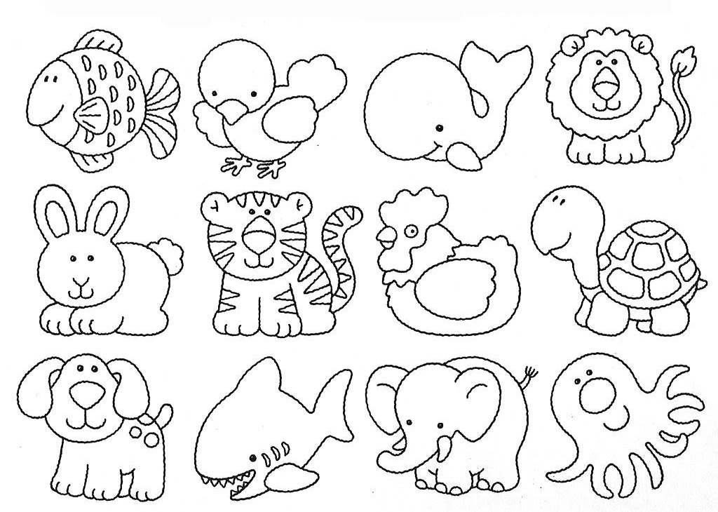 Draw Cute Little Animals for Kids