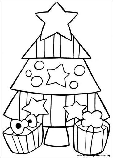 Riscos E Desenhos Desenhos Para Colorir Natal