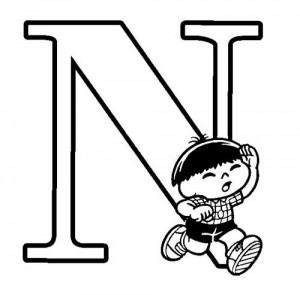 desenho molde alfabeto turma monica imprimir colorir painel escolar (14)