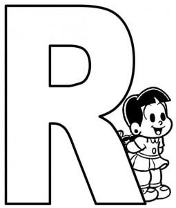 desenho molde alfabeto turma monica imprimir colorir painel escolar (18)