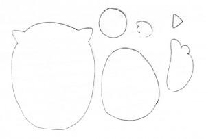 molde corujinha artesanato lembrancinha almofada painel escolar capa caderno (4)