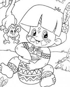 desenhos colorir dia do indio atividades escolares (1)