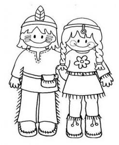 desenhos colorir dia do indio atividades escolares (3)