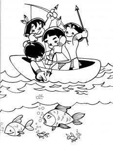 desenhos colorir dia do indio atividades escolares (5)
