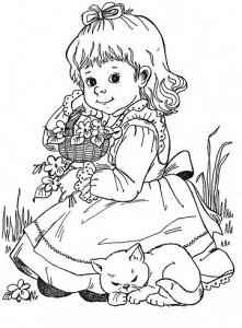 desenhos colorir meninas (1)