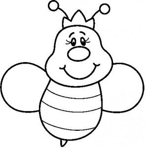 desenhos abelhas colorir  artesanato trabalhos escolares (5)