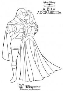 desenhos imprimir colorir a bela adormecida disney (1)