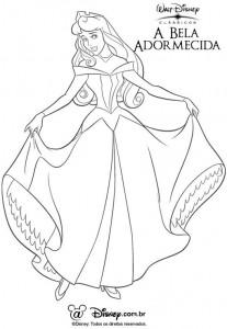 desenhos imprimir colorir a bela adormecida disney (3)