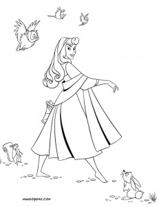 desenhos imprimir colorir a bela adormecida disney (5)