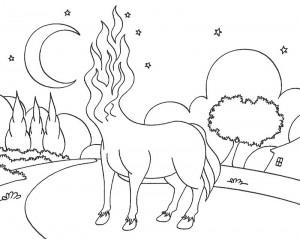 desenhos colorir folclore saci perere iara mula sem cabeca curupira bumba meu boi (5)