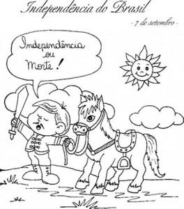 desenhos colorir semana patria sete setembro independencia brasil atividades projetos  escolares (1)