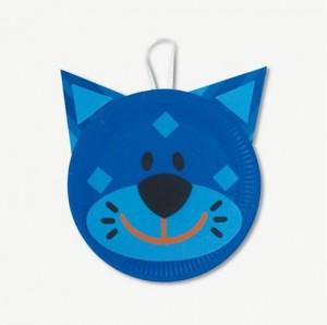 reciclagem arte escola criancas pratos descartaveis animais gato (3)
