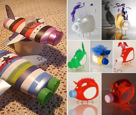 reciclagem brinquedos criancas garrafa pet embalagem plastica (1)