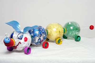 reciclagem brinquedos criancas garrafa pet embalagem plastica (3)