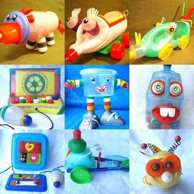 reciclagem brinquedos criancas garrafa pet embalagem plastica (5)