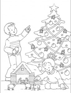 desenhos imprimir colorir natal papai noel boneco de neve anjo arvore de natal (6)