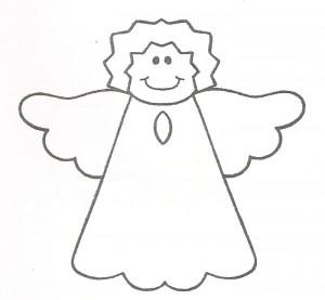molde anjinhos pintura artesanato eve feltro natal (2)