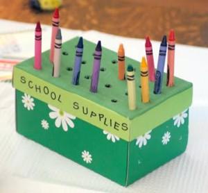 como organizar material escolar caixa organizadora porta treco latinha caixa sapato (2)
