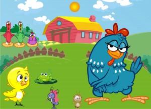 desenhos colorido galinha pintadinha lembrancinha tag rotulo festa infantil (5)
