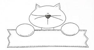 molde gatinho artesanato feltro eva (2)