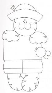 molde gatinho artesanato feltro eva (3)