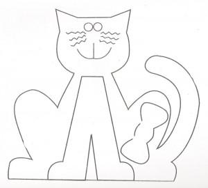 molde gatinho artesanato feltro eva (4)