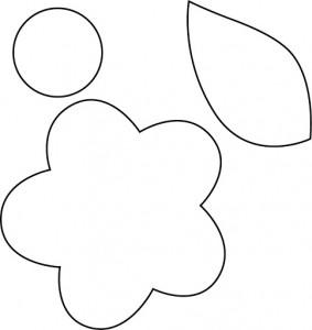 moldes flores artesanato feltro eva trabalhos manuais (6)