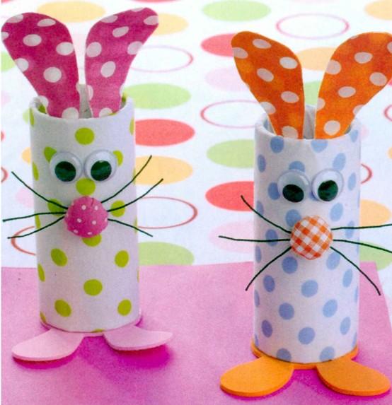 modelo lembrancinha pascoa rolinho papel higienico reciclagem porta bombons (3)