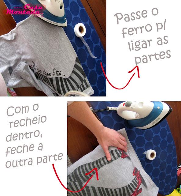 como fazer almofada com camiseta velha (2)