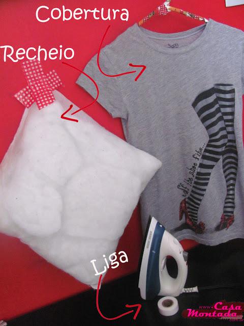 como fazer almofada com camiseta velha (4)