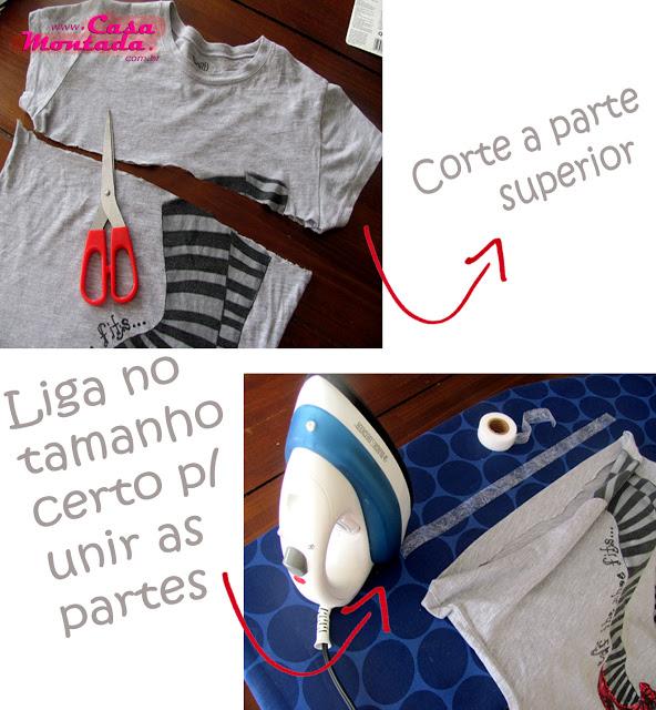 como fazer almofada com camiseta velha (5)