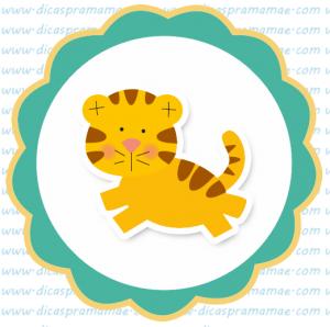 tag aniversario safari tigre