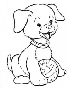 desenhos caes cachorrinhos colorir imprimir (2)